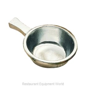 Bon Chef 3009SMOKEGRA Soup Salad Pasta Cereal Bowl, Metal