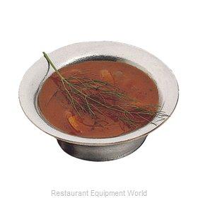 Bon Chef 3020DUSTYR Soup Salad Pasta Cereal Bowl, Metal