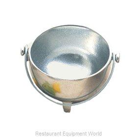 Bon Chef 3030PWHT Soup Salad Pasta Cereal Bowl, Metal