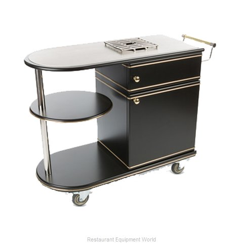 Bon Chef 50020 Flambe Cart (Magnified)