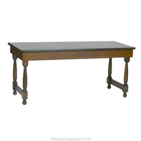 Bon Chef 50054 Folding Table, Rectangle