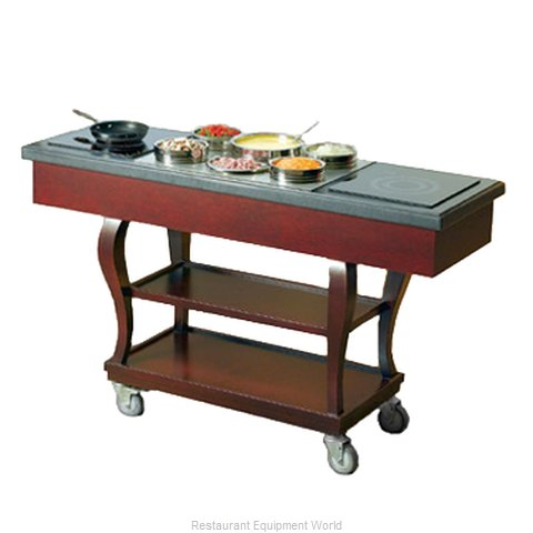 Bon Chef 50064 Service Cart (Magnified)
