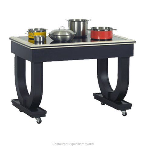 Bon Chef 50074 Deco Table (Magnified)
