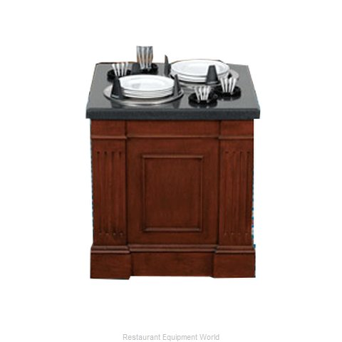 Bon Chef 50104 Dispenser, Plate Dish, Stationary
