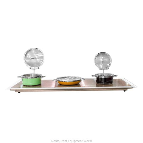 Bon Chef 50146 Buffet Station (Magnified)