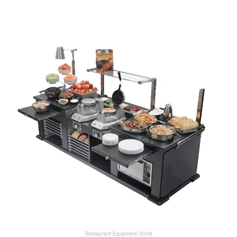 Bon Chef 50156 Buffet Station (Magnified)