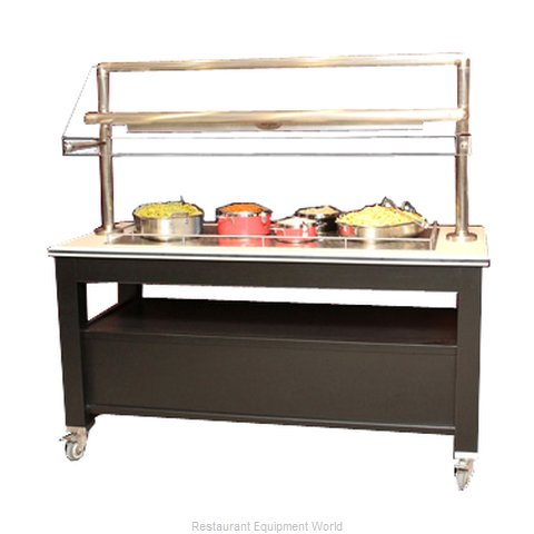 Bon Chef 50157 Buffet Station (Magnified)