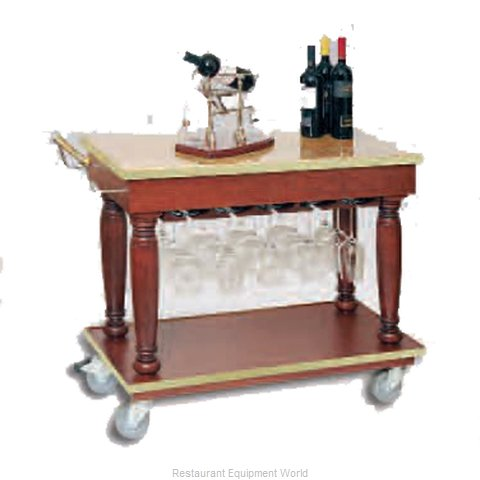 Bon Chef 50174 Cart, Liquor Wine