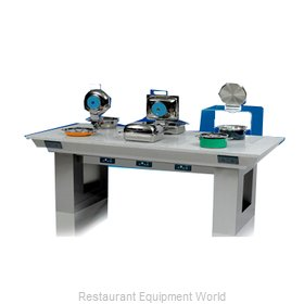 Bon Chef 50180 Induction Hot Food Serving Counter