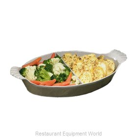 Bon Chef 5025DIVY Au Gratin Dish, Metal