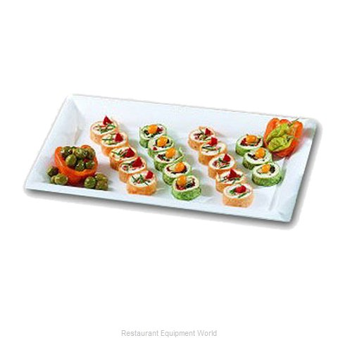 Bon Chef 5056RED Display Tray, Market / Bakery