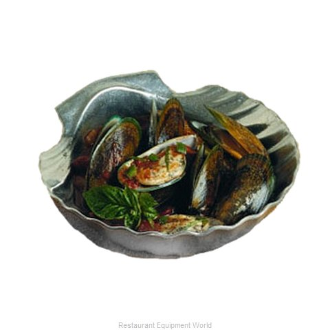 Bon Chef 5082P Shell Bowl (Magnified)