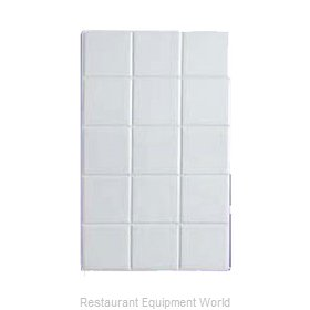 Bon Chef 52000PLATINUMGRA Tile Inset