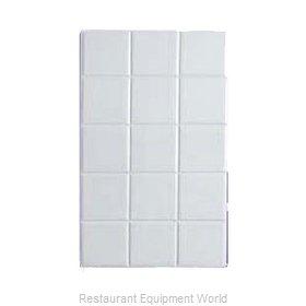 Bon Chef 52000WHTM Tile Inset, Metal