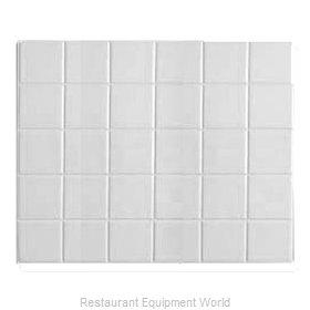 Bon Chef 52001WHTM Tile Inset, Metal