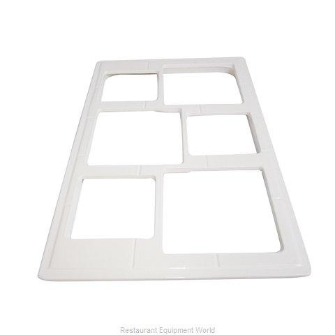 Bon Chef 52031PWHT Tile Inset