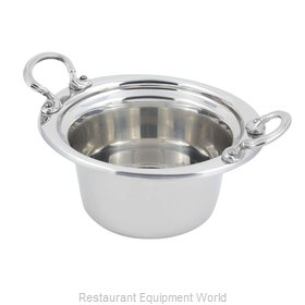Bon Chef 5250HRSS Steam Table Pan, Decorative