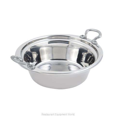 Bon Chef 5256HRSS Steam Table Pan, Decorative