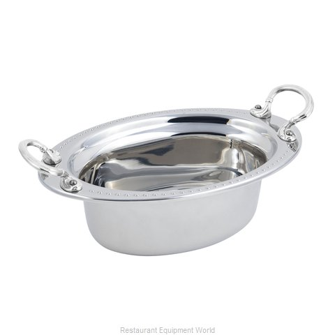 Bon Chef 5303HRSS Steam Table Pan, Decorative (Magnified)