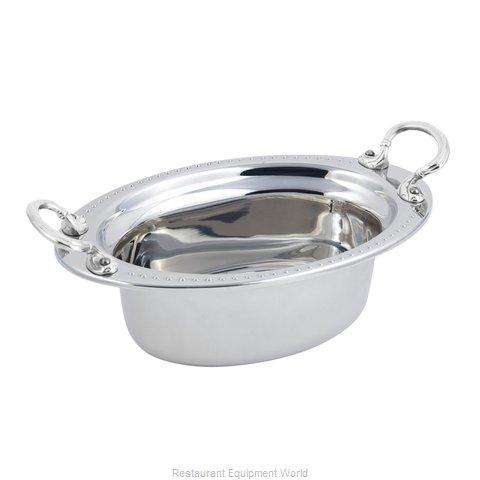 Bon Chef 5303HRSS Steam Table Pan, Decorative