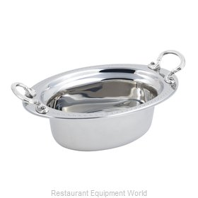 Bon Chef 5303HRSS Steam Table Pan, Decorative