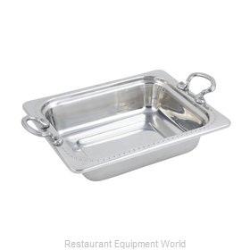 Bon Chef 5309HRSS Steam Table Pan, Decorative
