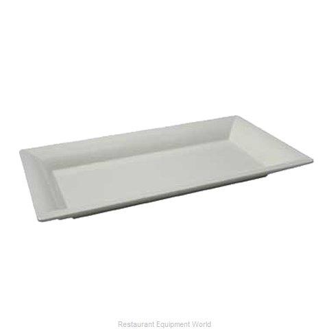 Bon Chef 53403WHITE Platter, Plastic