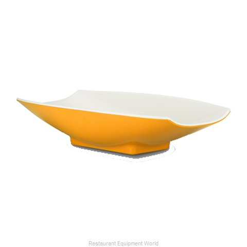 Bon Chef 53700-2TONEYELLOW Serving Bowl, Plastic (Magnified)