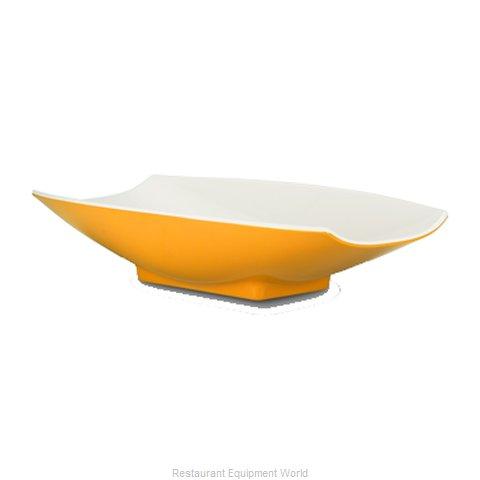 Bon Chef 53701-2TONEYELLOW Serving Bowl, Plastic