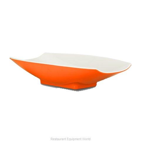 Bon Chef 53702-2TONEORANGE Serving Bowl, Plastic