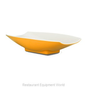 Bon Chef 53702-2TONEYELLOW Serving Bowl, Plastic