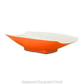 Bon Chef 53704-2TONEORANGE Serving Bowl, Plastic