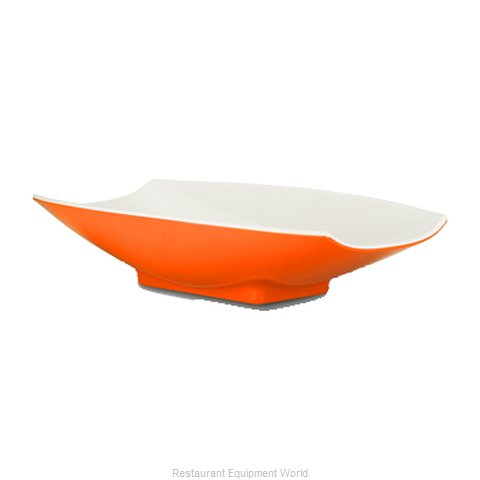 Bon Chef 53705-2TONEORANGE Serving Bowl, Plastic