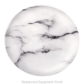 Bon Chef 53850-MRBL Plate, Plastic