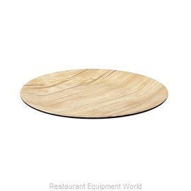 Bon Chef 53975BLK-BAMBOO Plate, Plastic