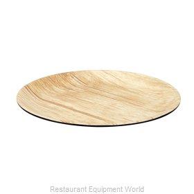 Bon Chef 53976BLK-BAMBOO Plate, Plastic