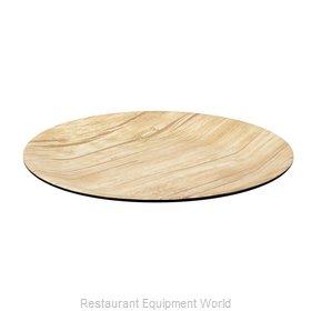 Bon Chef 53977BLK-BAMBOO Plate, Plastic