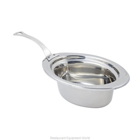 Bon Chef 5403HLSS Steam Table Pan, Decorative