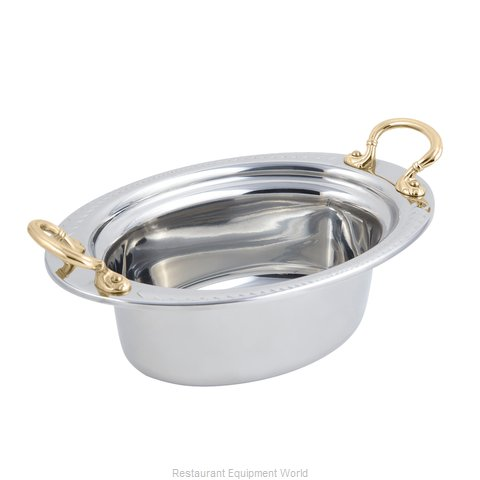 Bon Chef 5403HR Steam Table Pan, Decorative