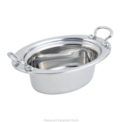 Bon Chef 5403HRSS Steam Table Pan Decorative (Magnified)
