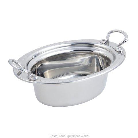 Bon Chef 5403HRSS Steam Table Pan, Decorative