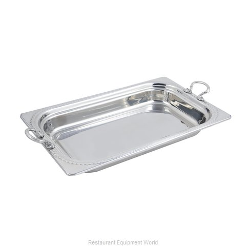 Bon Chef 5408HRSS Steam Table Pan, Decorative