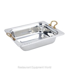 Bon Chef 5409HR Steam Table Pan, Decorative