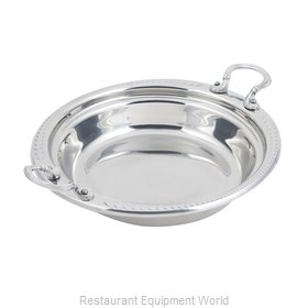 Bon Chef 5455HRSS Steam Table Pan, Decorative
