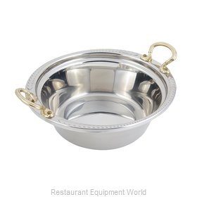 Bon Chef 5456HR Steam Table Pan, Decorative