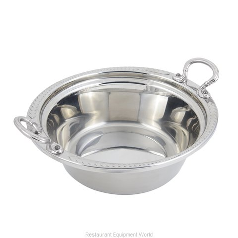 Bon Chef 5456HRSS Steam Table Pan, Decorative