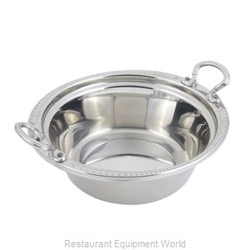 Bon Chef 5456HRSS Steam Table Pan, Decorative