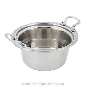 Bon Chef 5460HRSS Steam Table Pan, Decorative