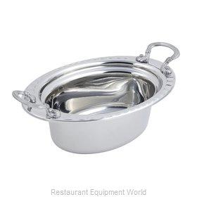 Bon Chef 5603HRSS Steam Table Pan, Decorative