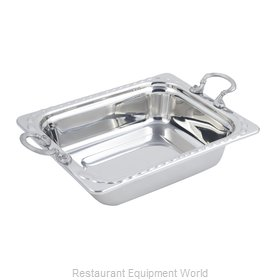 Bon Chef 5609HRSS Steam Table Pan, Decorative
